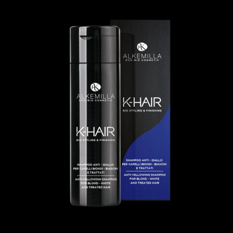 Shampoo Anti-Giallo Per Capelli Biondi, Bianchi e Trattati- K-HAIR