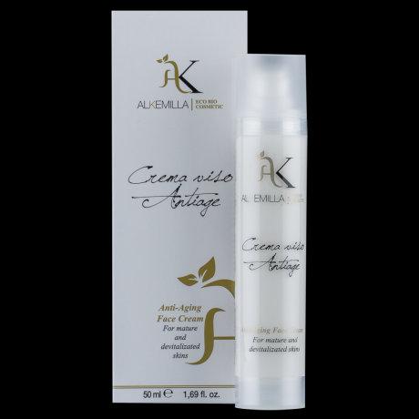 Crema viso Antiage per pelli mature e devitalizzate- Alkemilla
