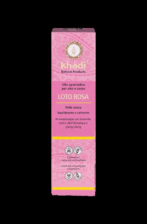 Khadi® Olio Viso & Corpo - Pink lotus
