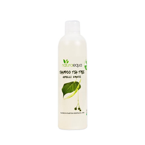 Shampoo tea tree - capelli grassi- Naturaequa