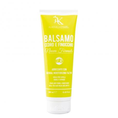Balsamo Cedro e Finocchio ideale per capelli deboli e sfibrati- Alkemilla