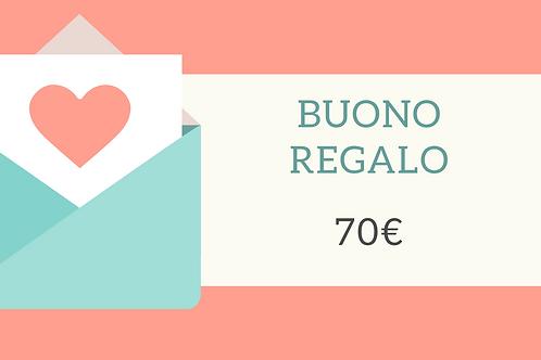 Buono Regalo 70€