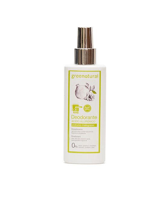 Deodorante spray Acido Ialuronico MELOGRANO Greenatural