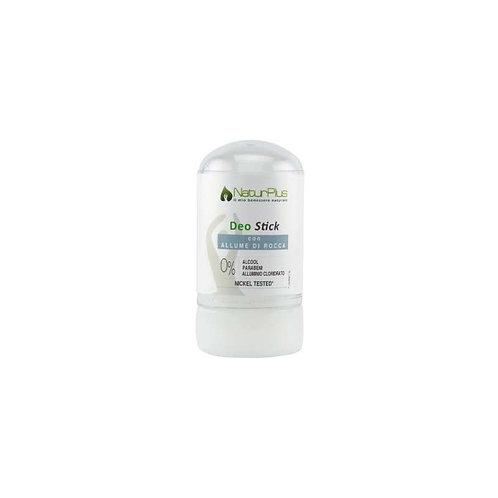 Deodorante 60g  Stick Puro allume di rocca NaturPlus