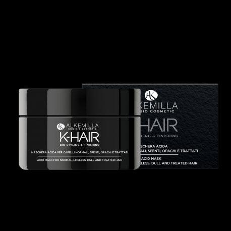 Maschera Acida per Capelli Spenti, Opachi e Trattati- K-HAIR