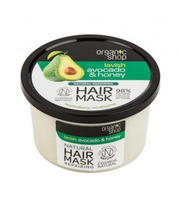 """Maschera per capelli """"Miele e avocado"""""""