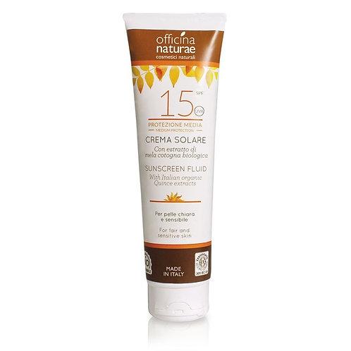 Crema Solare SPF 15 Protezione Media