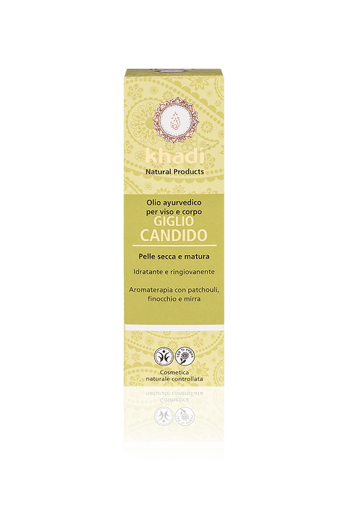 Khadi® Olio Viso & Corpo - Lilium Candidum -per pelli secche