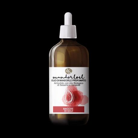 Mandorloil Bacche di Goji - Olio di Mandorle Profumato arricchito con Olio Biolo