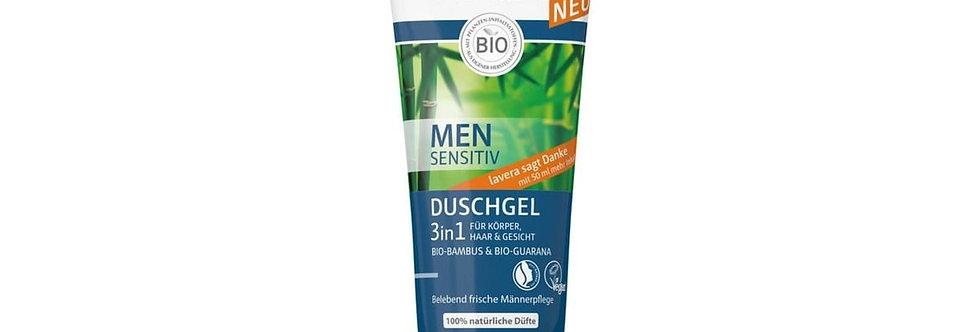Lavera Men Sensitiv gel doccia 3 in 1