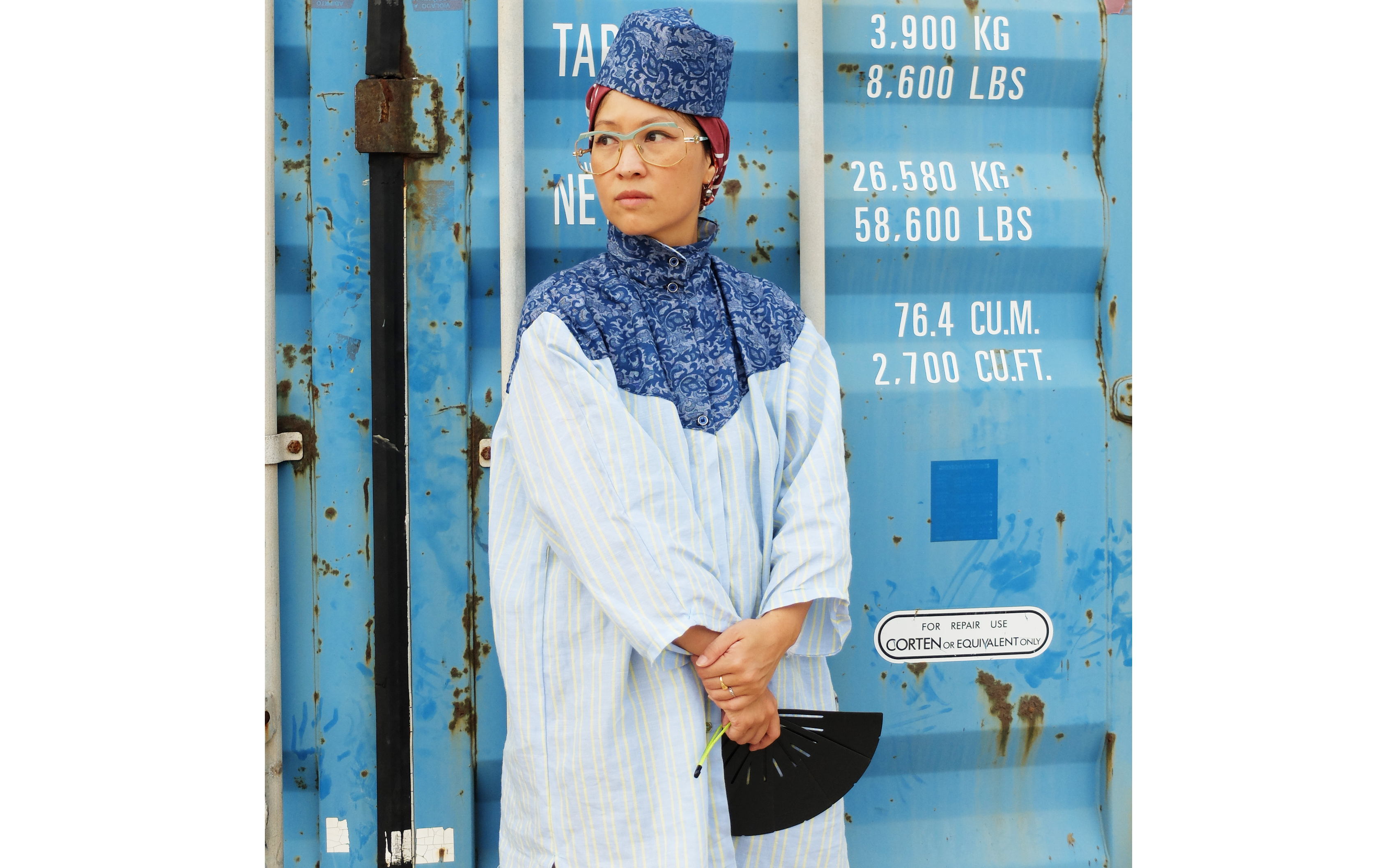 Lookbook chechia bleu fiji