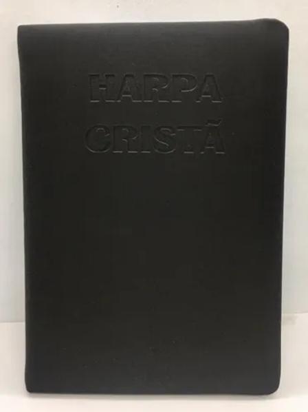 Harpa Cristã letra gigante preta