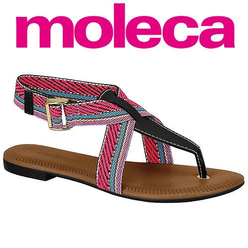Moleca-5419.330-21229 Sandalia Preto