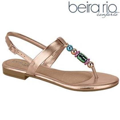 Beira Rio-8427.105-14710 sandalia Ouro Rosado