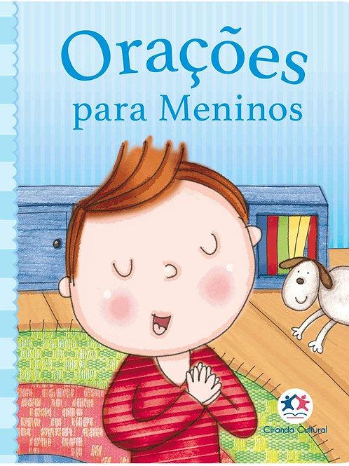Orações para meninos (Português) Capa comum