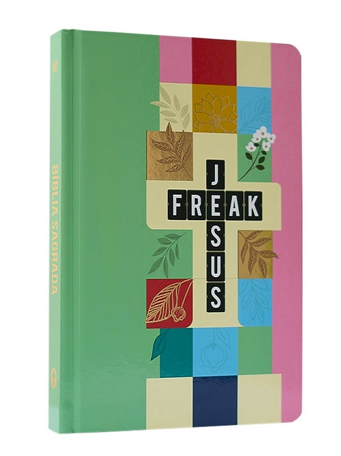 Bíblia Jesus Freak | NVI | Letra Média | Capa Dura | Pixel