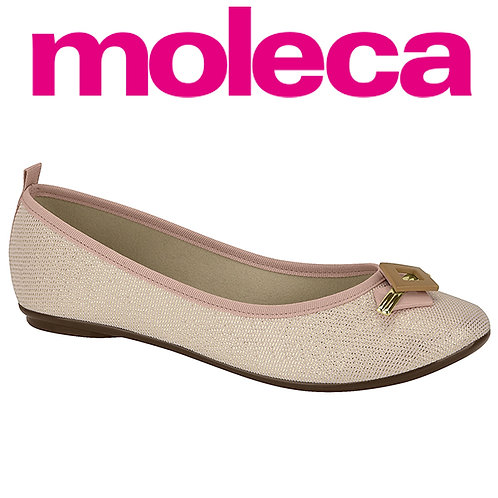 Moleca-5314.559-20937 Sapatilha rose