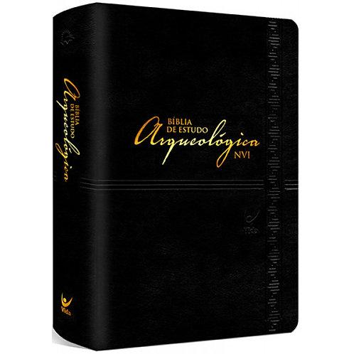 Bíblia de Estudo Arqueológica NVI luxo -PReto