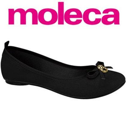 Moleca-5314.552-18923 Sapatilha Preto