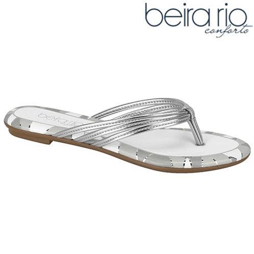 Beira Rio-8367.628-21341 Sandalia Prata