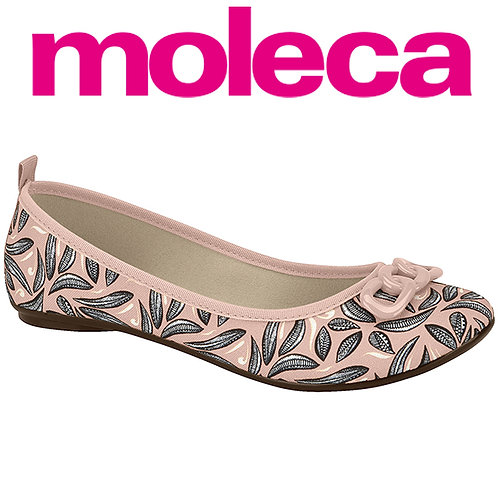 Moleca-5314.554-20590 Sapatilha rose
