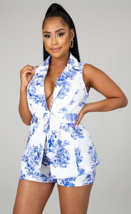 """Blossoming Bleu"" Set"