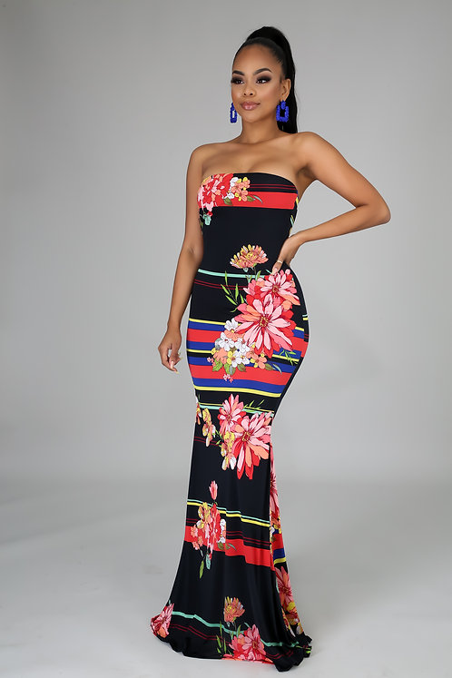 Blossoming Tube Maxi
