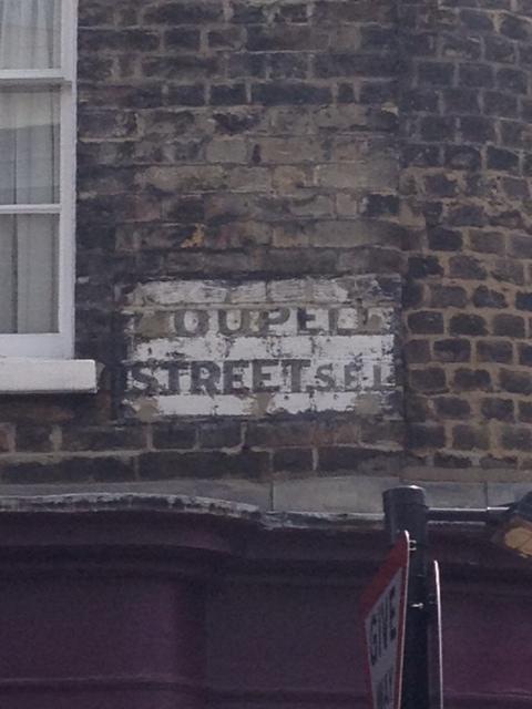 ROUPELL STREET SIGN