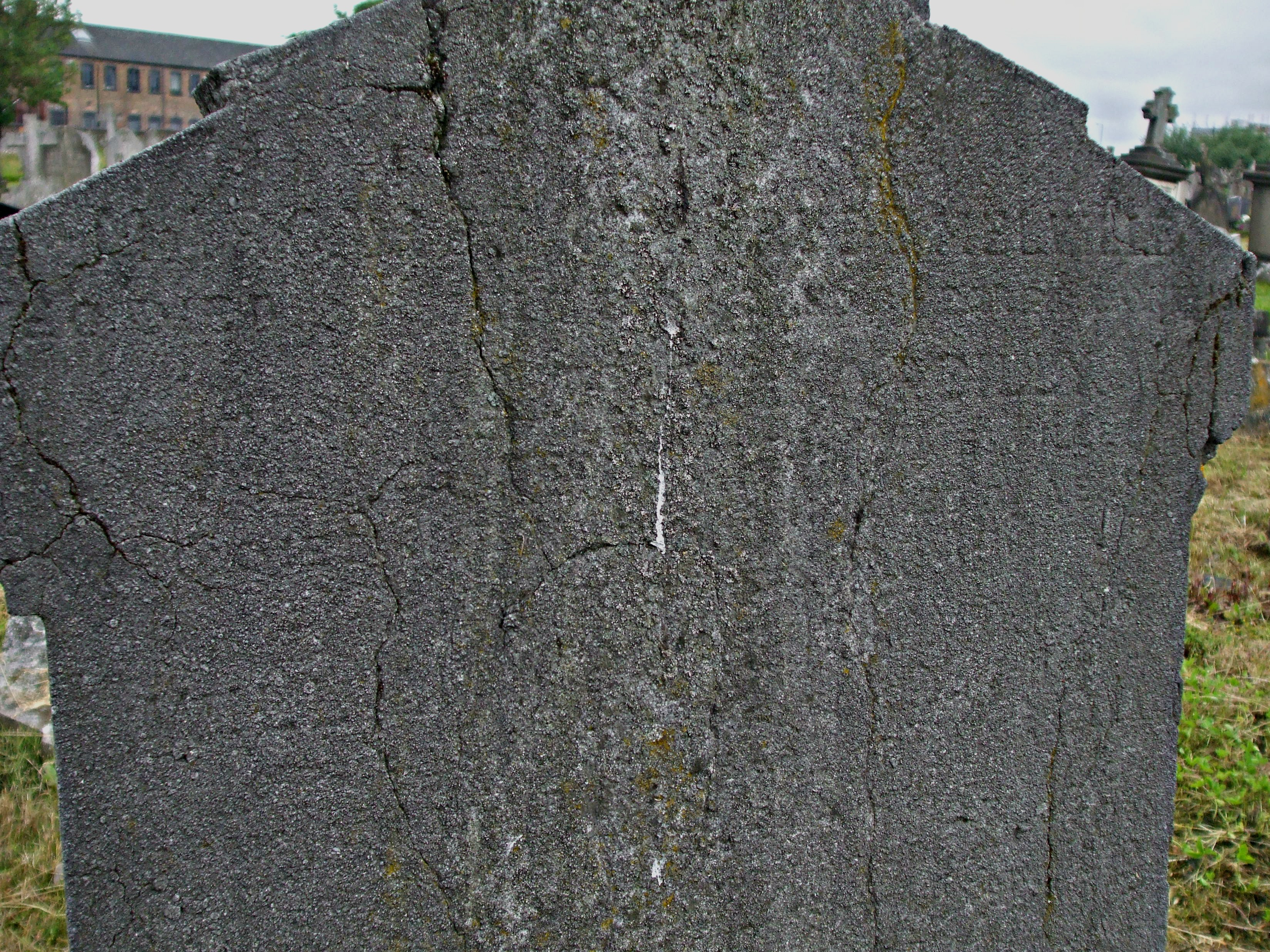 SIR WILLIAM MELVILLE'S GRAVESTONE