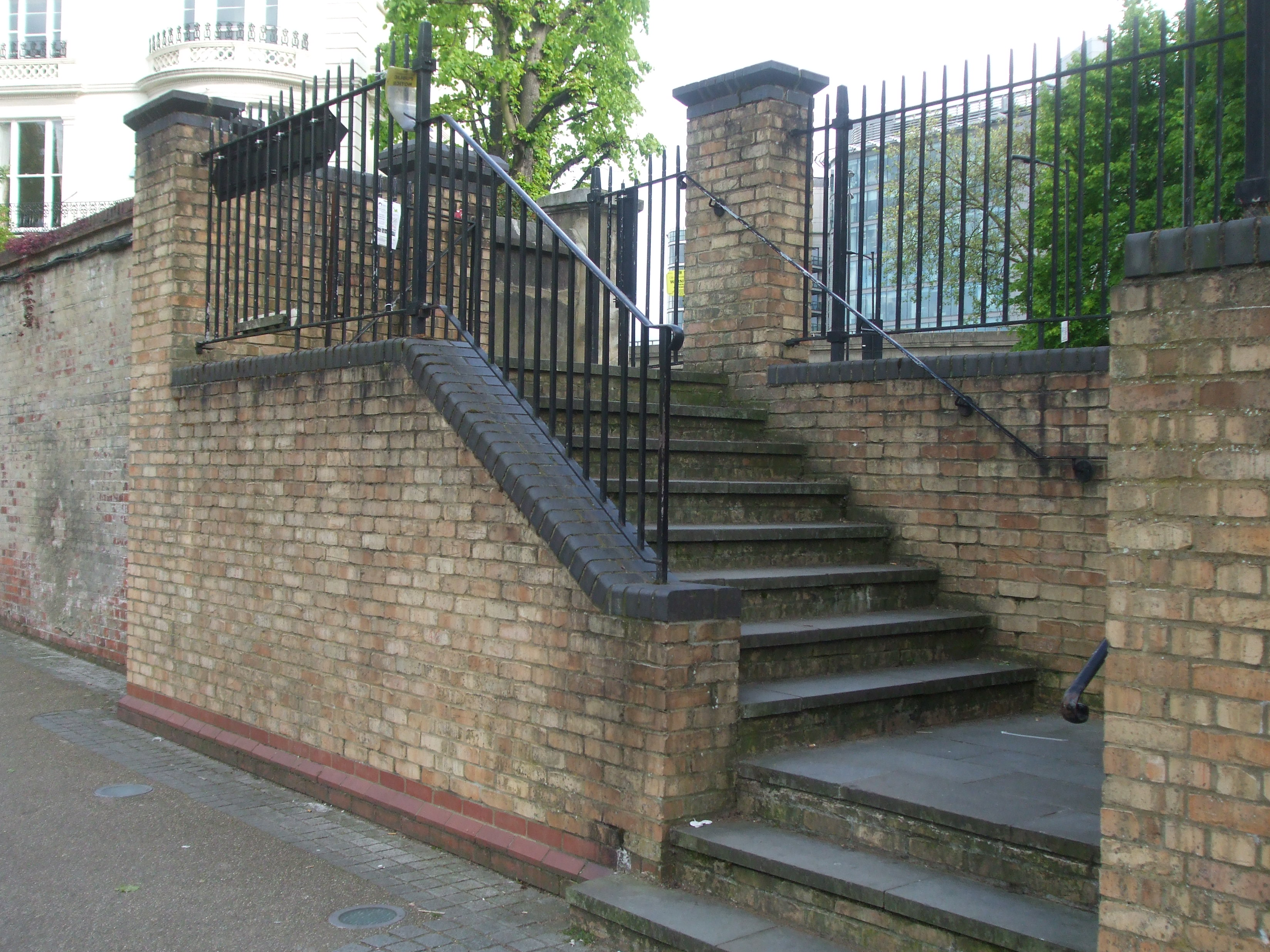 STEPS DOWN TO 'THE LEGERDEMAIN'