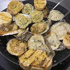 Sampler Platter of Oysters (Dozen)