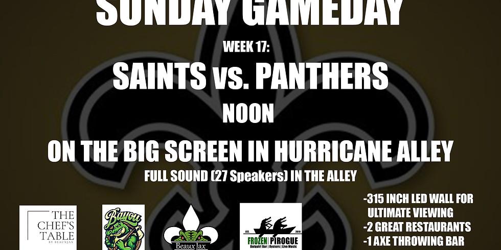 SUNDAY GAMEDAY: SAINTS vs Panthers