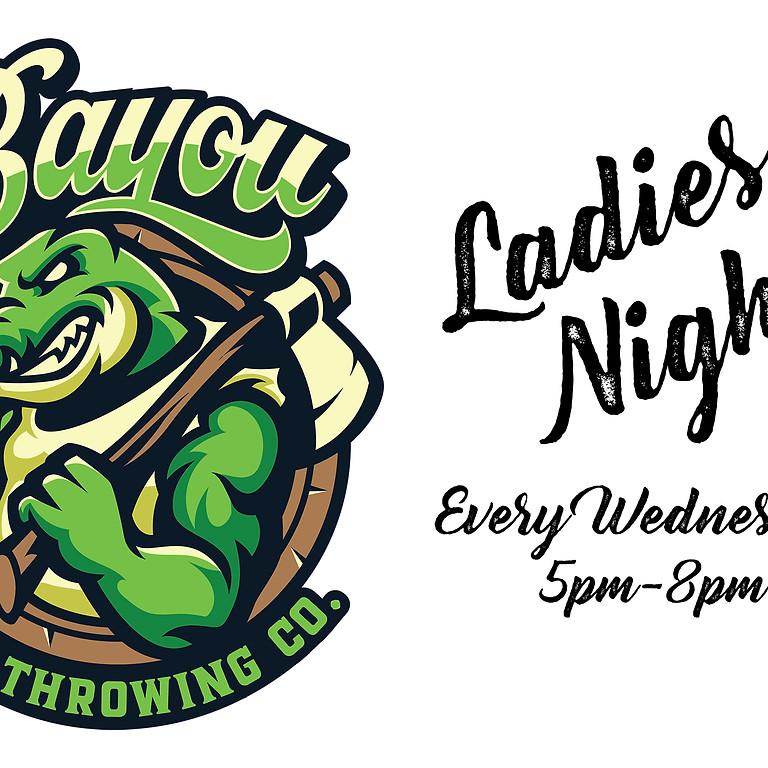 LADIES' NIGHT @ Bayou Axe Throwing Co.