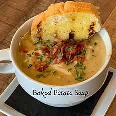 Baked Potato Soup Bowl
