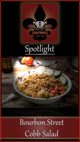 BeauxJax Food Spotlight!- Bourbon Street  Cobb Salad