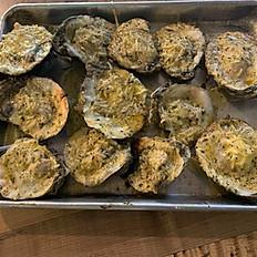 Garlic Parmesan Oysters