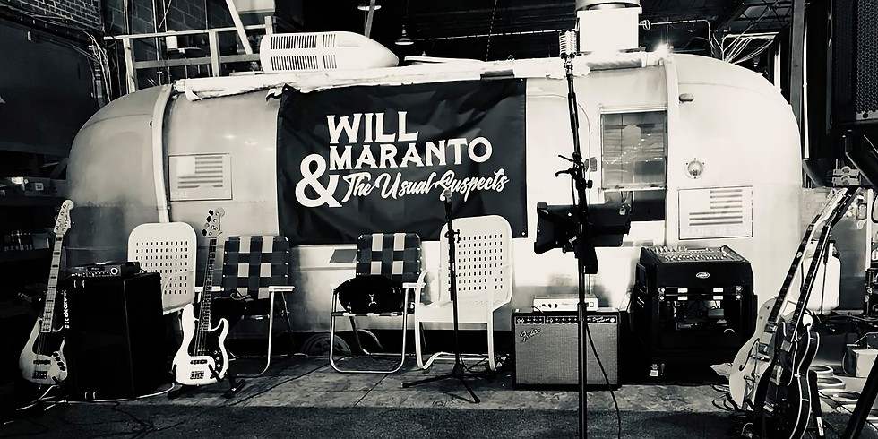 Will Maranto & The Usual Suspects Live @ Frozen Pirogue