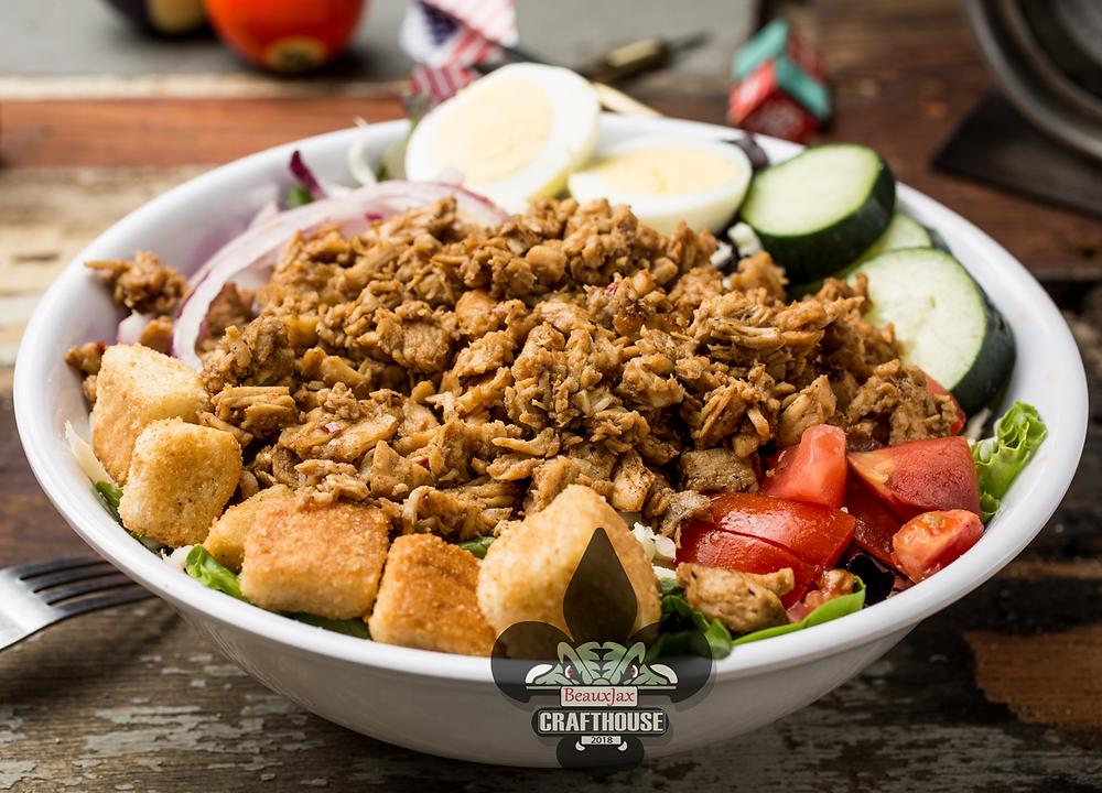 BeauxJax Bourbon St. Cobb Salad(Enhanced for your enjoyment)