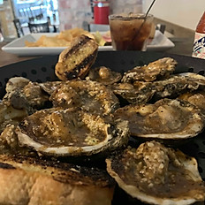 BBQ Buttered Oysters