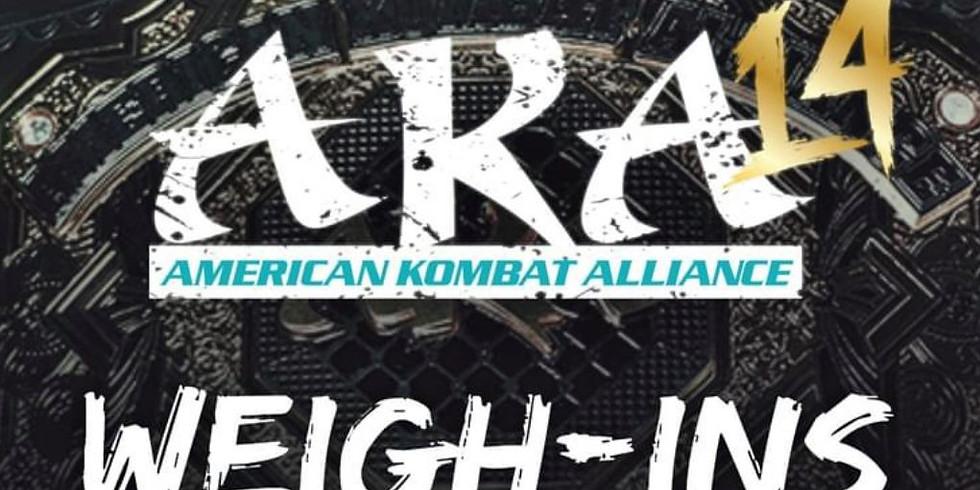 AKA 14 Weigh-Ins Live in Hurricane Alley