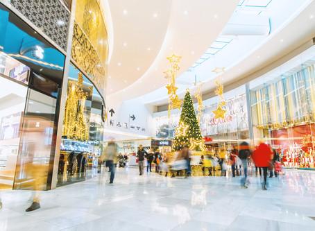 Chegou a época de maior circulação nos shoppings