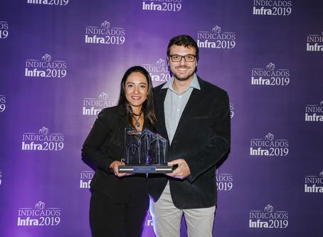 Fomos a primeira Start up premiada no Indicados Infra 2019