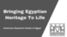 Tarek Swelim Art Historian Egyptology Islamic Art ARCE American Research Center in Egypt