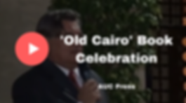Tarek Swelim Art Historian Egyptology Islamic Art Old Cairo Book Celebration AUC Press
