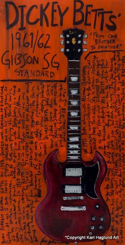 Guitar Art Dickey Betts