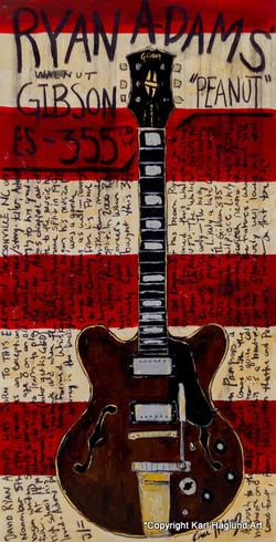 Ryan Adams Guitar Art