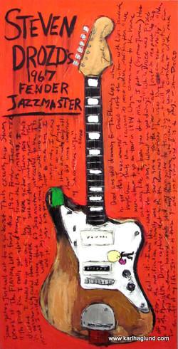 Guitar Art Steven Drozd