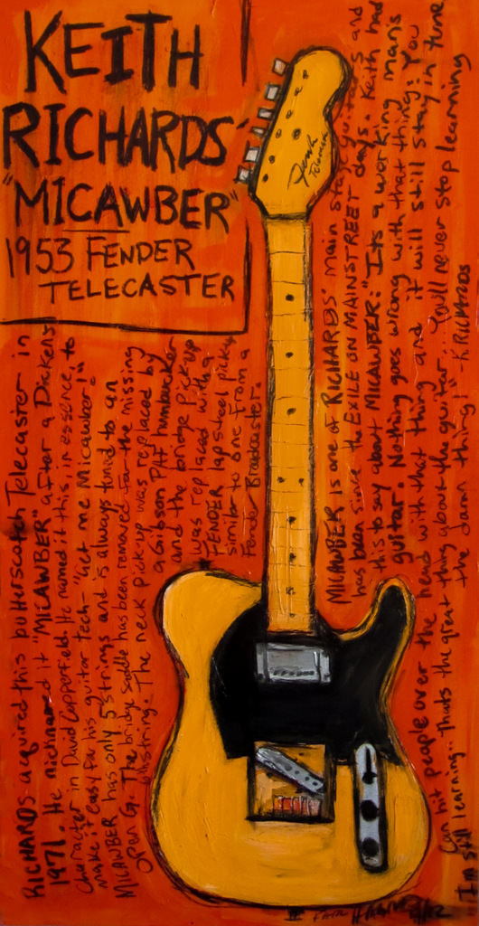 Keith Richards Art Micawber