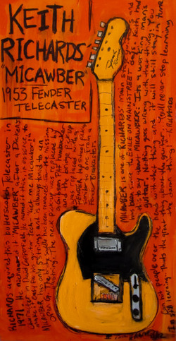 Keith Richards Art Micawber