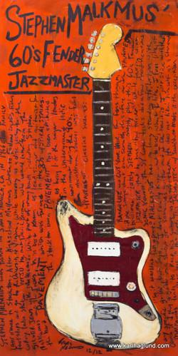 Stephen Malkmus Guitar Art